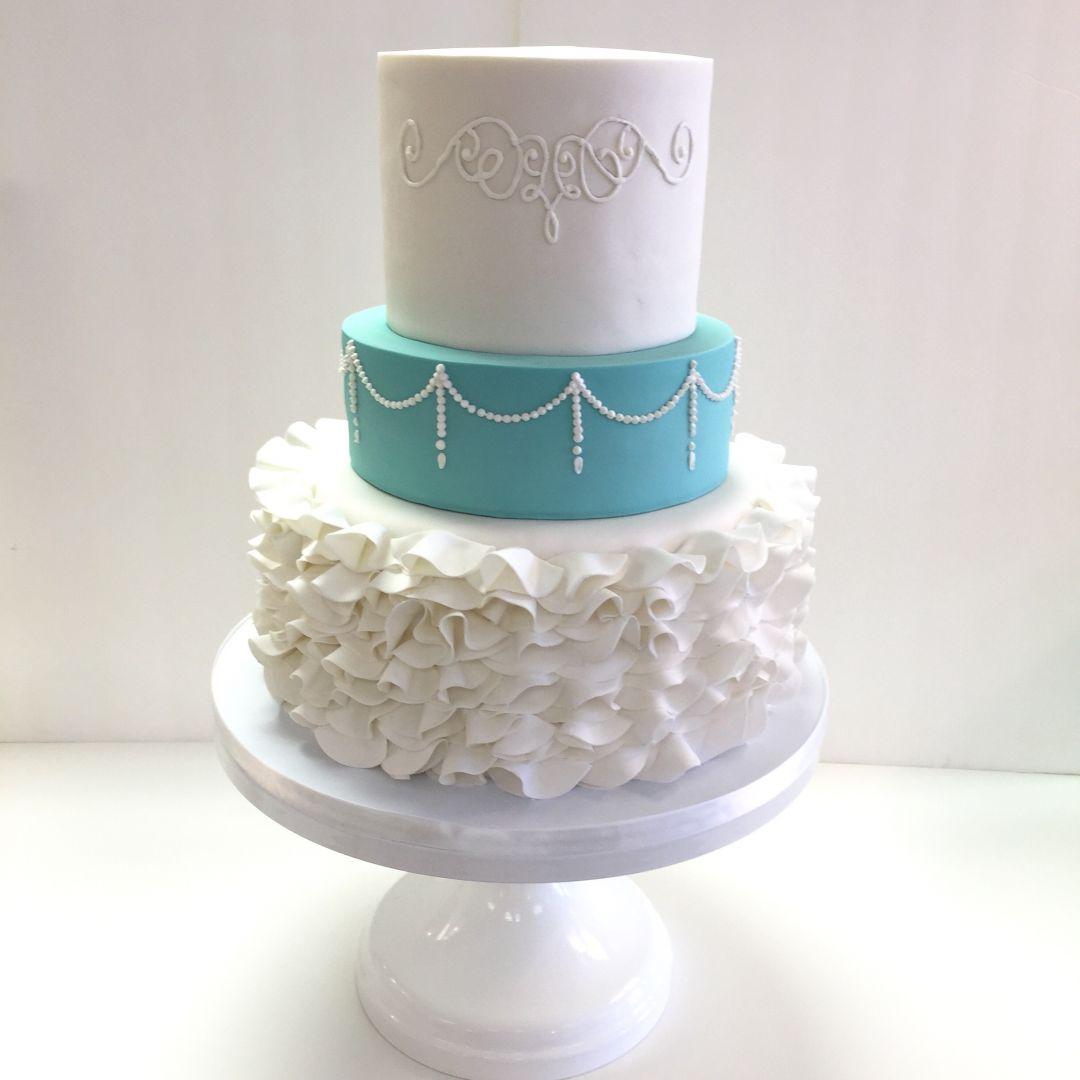 Wedding Cakes – Fondant – Frost It Cupcakery