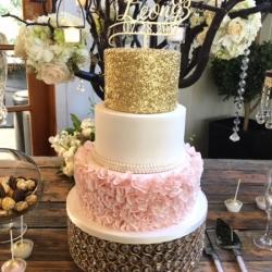 sequin cake