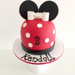 Fondant Mickey Mouse Cake