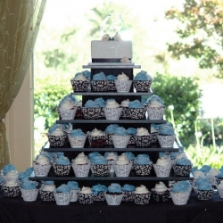 Black Wedding Tower