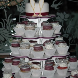 Engagement Party Cupcake Tower