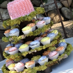 Garden Theme Wedding Tower