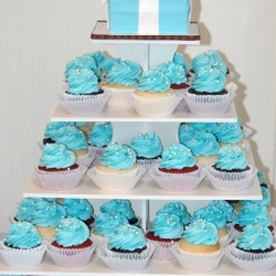 Tiffany Box Cupcake Tower