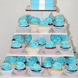 Tiffany Box Cupcake Tower