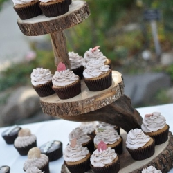 Tree Cupcake Tower