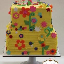 Whimcal Flower Cake