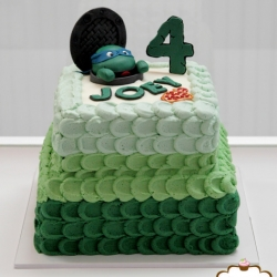 Teenage Mutuant Ninja Turtle Cake