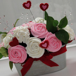 Custom Heart Bouquet