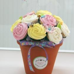 Spring Cupcake Bouquet