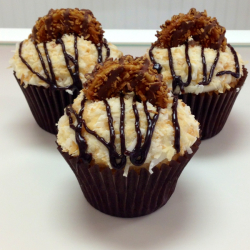 Samoa Cupcake