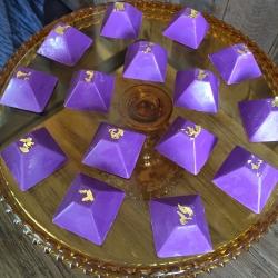 Chocolate Oreo Pyramids