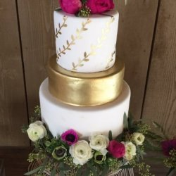 Camarillo Ranch Wedding Cake