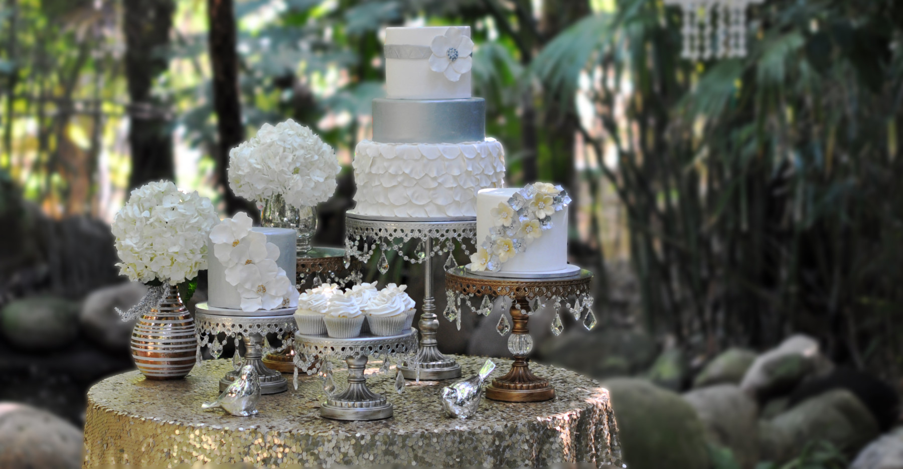Our Cupcakery Wedding Cake